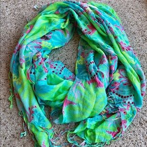 Lilly Pulitzer Green Scarf